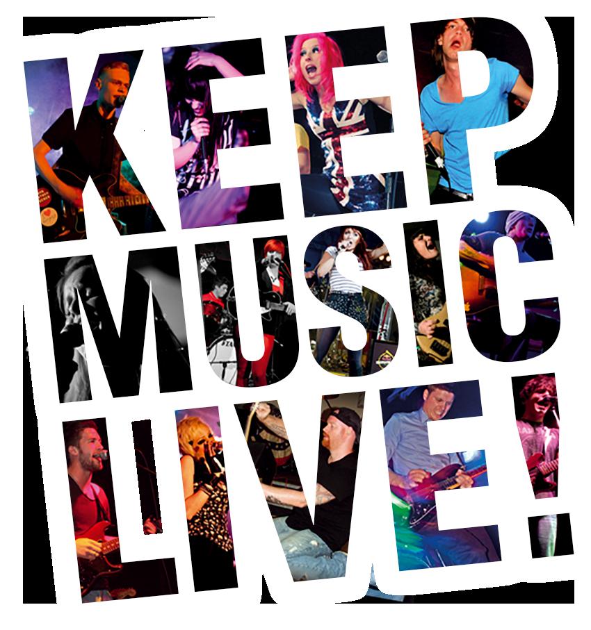 keep music live